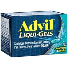 アドビル アドビル 液体ゲル 200mg 20カプセル