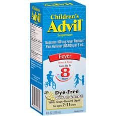 アドビル 子供用 液状解熱剤 白ブドウ味 2~11歳用 120 ml