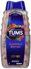 Tums ウルトラストレングス 1000 アソート ベリー 265 チュアブルタブレット