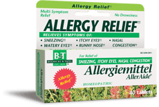 BOERICKE & TAFEL アレルギーリリーフ 40 錠