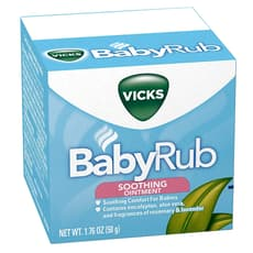 Vicks Baby Rub Soothing Ointment 1.76 oz