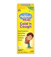 Hyland's 子供用 風邪薬&咳止め 118 ml