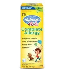 Hyland's 4 キッズ コンプリート アレルギー 118 ml