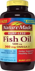Nature Made Fish Oil 1,200 mg 200 Softgels