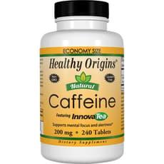 Healthy Origins 天然カフェイン 200 mg 240 錠