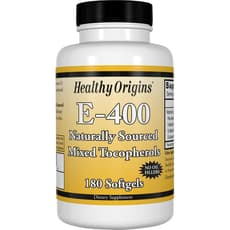 Healthy Origins E - 400 400 IU 180 ソフトジェル