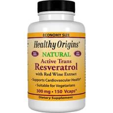 Healthy Origins アクティブトランスレスベラトロール 300 mg 150 カプセル