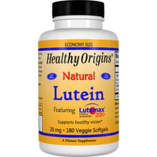 Healthy Origins ルテインナチュラル 20 mg 180 ベジソフトジェル