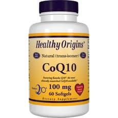 Healthy Origins コエンザイム100 mg 60 ソフトジェル