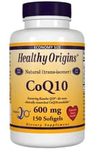 Healthy Origins 天然(トランス異性体)CoQ10(カネカQ10)600 mg 150 ソフトジェル