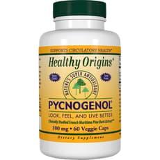 Healthy Origins ピクノジェノール 100 mg 60 ベジカプセル