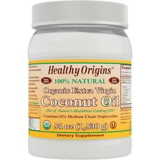 Healthy Origins オーガニックエクストラバージンココナッツオイル 1530 g