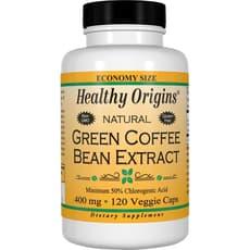 Healthy Origins グリーンコーヒービーン エキス 400 mg 120 ベジカプセル