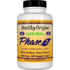 Healthy Origins フェーズ2 カーボコントローラー 500 mg 90 ベジカプセル