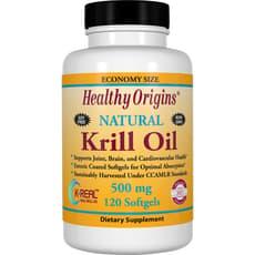 Healthy Origins オキアミ油 500 mg 120 ソフトジェル