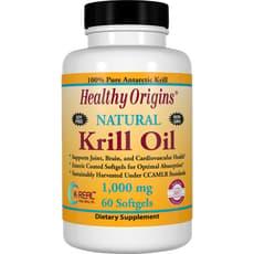 Healthy Origins オキアミ油 1,000 mg 60 ソフトジェル