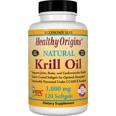 Healthy Origins オキアミ油(K-Real)1,000 mg 120 ソフトジェル