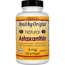 Healthy Origins アスタキサンチン 4 mg 150 ソフトジェル