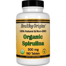 Healthy Origins オーガニックスピルリナ 500 mg 180 錠