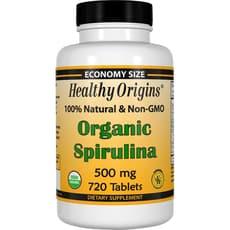 Healthy Origins オーガニック スピルリナ 500 mg 720錠