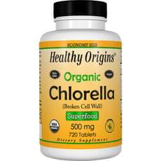 Healthy Origins オーガニッククロレラ 500 mg 720 錠