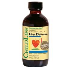 ChildLife 最初の防御 4液量オンス 118 ml