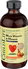 ChildLife マルチビタミン & ミネラル オレンジマンゴー味 237 ml