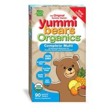Hero Nutritionals ヤミーベアーズオーガニック 完全マルチビタミン 90グミ
