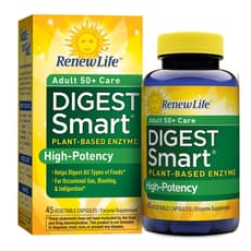Renew Life Digest Smart Senior Care 45 Veg Capsules