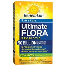 Renew Life Ultimate Flora Probiotic Extra Care 50 Billion 30 Veg Capsules