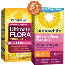 Renew Life Ultimate Flora Vaginal Support 60 Veg Capsules
