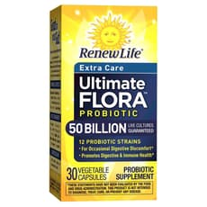 Renew Life Ultimate Flora Critical Care 50 Billion 30 Veg Capsules
