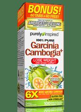 Purely Inspired ガルシニアプラス1,600 mg 100タブレット