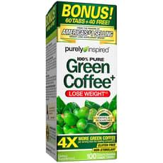 Purely Inspired グリーンコーヒー+ 100 ベジタブレット