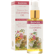 Badger Damascus Rose Face Cleansing Oil 2 fl oz