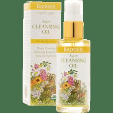 Badger Argan Face Cleansing Oil 2 fl oz