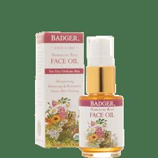 Badger ダマスカスローズ フェイスクレンジングオイル 29.5 ml
