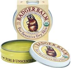 Badger オーガニック バジャーバーム 繊細な乾燥肌用 無香料 56g