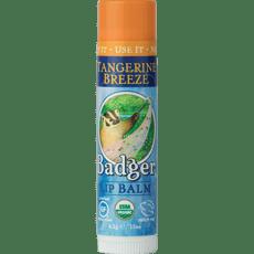 Badger リップクリームタンジェリンブリーズ4.2 g