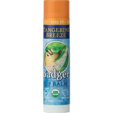 Badger Lip Balm Tangerine Breeze 0.15 oz