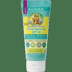 Badger Baby Sunscreen Cream SPF 30 2.9 fl oz