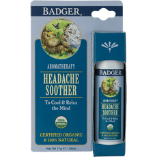 Badger Headache Soother Peppermint & Lavender 0.6 oz
