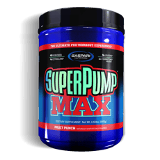 Gaspari Nutrition スーパーポンプマックスフルーツパンチ 639g