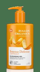 Avalon Organics ビタミンCによる防衛 クレンジングジェル 251ml