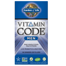Garden of Life Vitamin Code Mens Multi 120 Veg Capsules