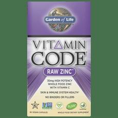 Garden of Life ビタミンコード 亜鉛 60 カプセル