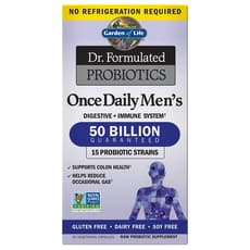 Garden of Life Dr. Formulated Probiotics Once Daily Mens 30 Veg Caspules