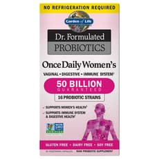 Garden of Life Dr. Formulated Probiotics Once Daily Womens 30 Veg Capsules
