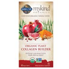 Garden of Life Organic Plant Collagen Builder 60 Veg Tablets