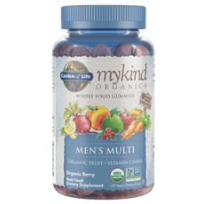 Garden of Life Mykind Organics Mens Multi Gummies Berry 120 Gummies